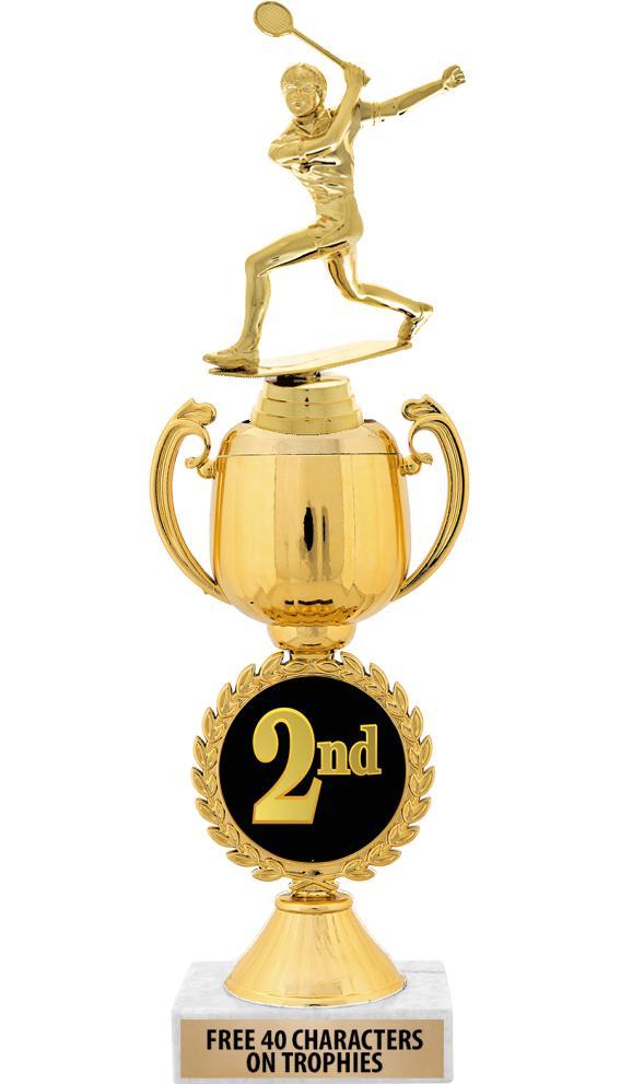 """12"""" 2ND PLACE CHAPLET CUP TROP"""