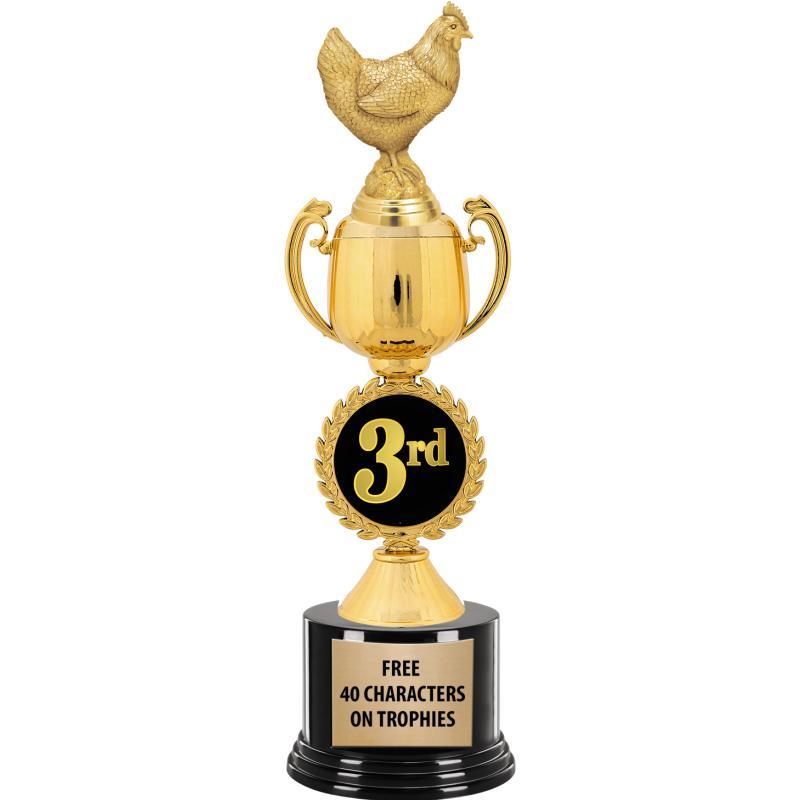 3RD PLACE CHAPLET CUP TROPHY