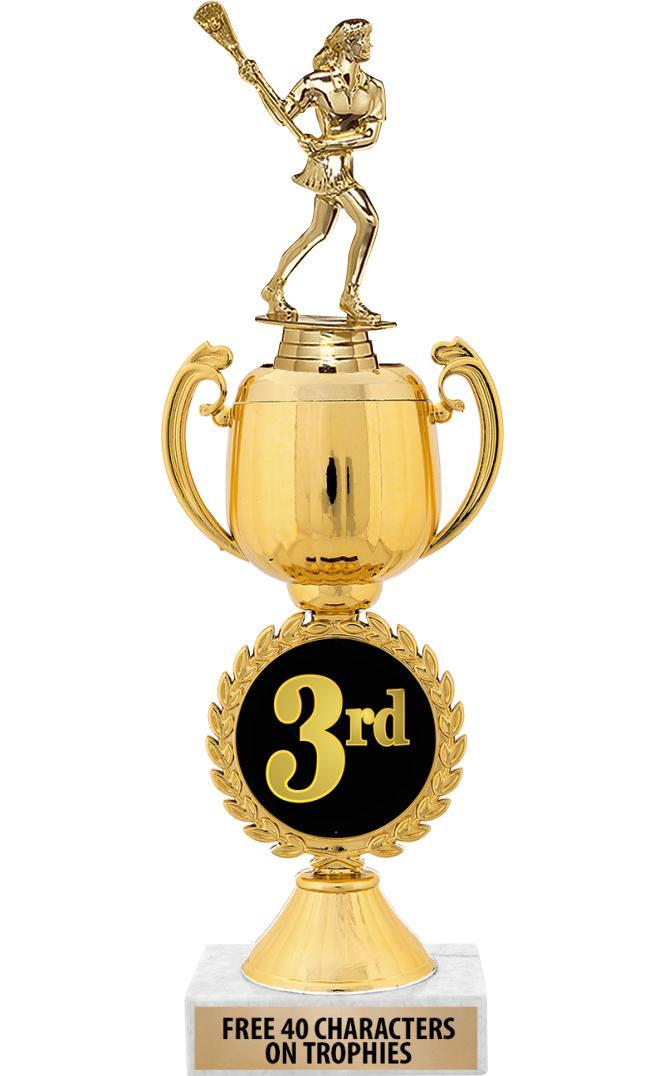 "12"" 3rd Place Chaplet Cup Trophy"
