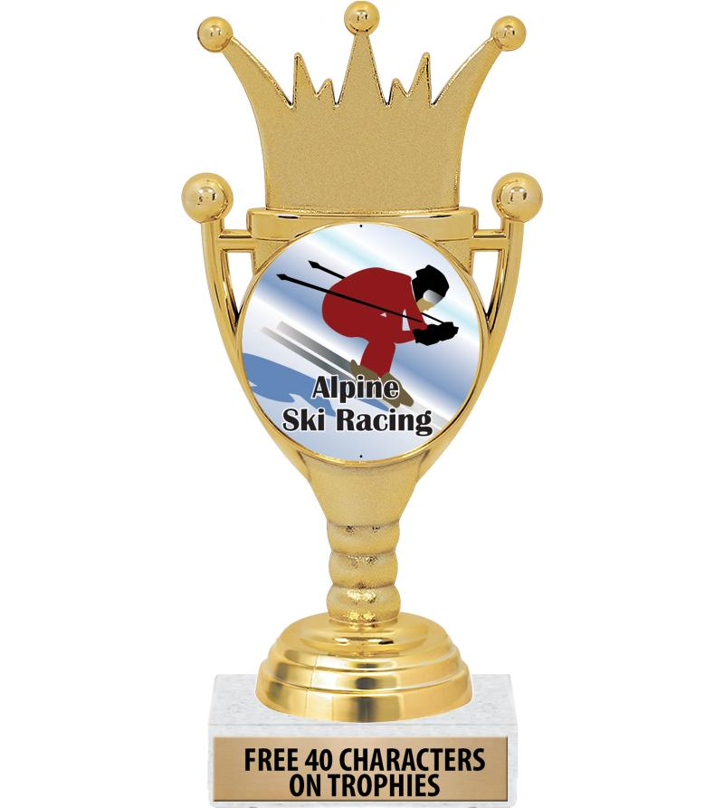 """6.75"""" CROWN CUP INSERT TROPHY"""