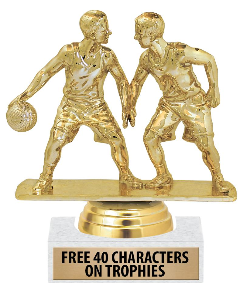 "6"" Double Action Participation Trophies"