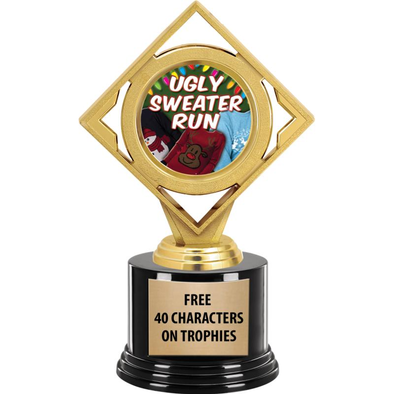 DIAMOND INSERT TROPHY