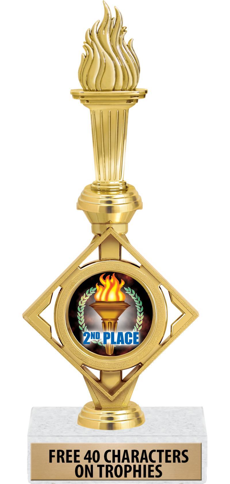 "12.5"" DIAMOND INSERT GOLD TRP"