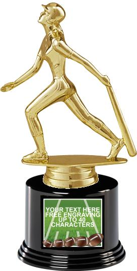"7"" Color Deluxe Applique Trophy"