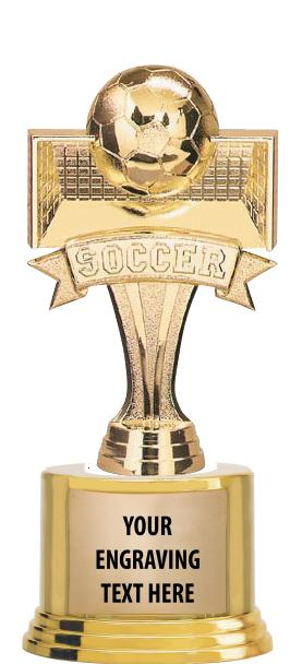 "7""TROPHY ON ROUND BASE"