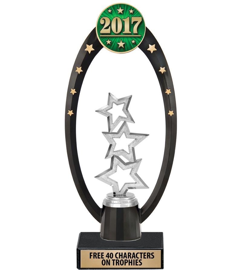 "11"" Deluxe Gateway Backdrop Trophy"
