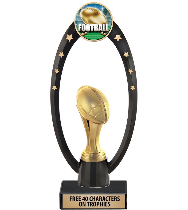 Football Trophies Crown Awards