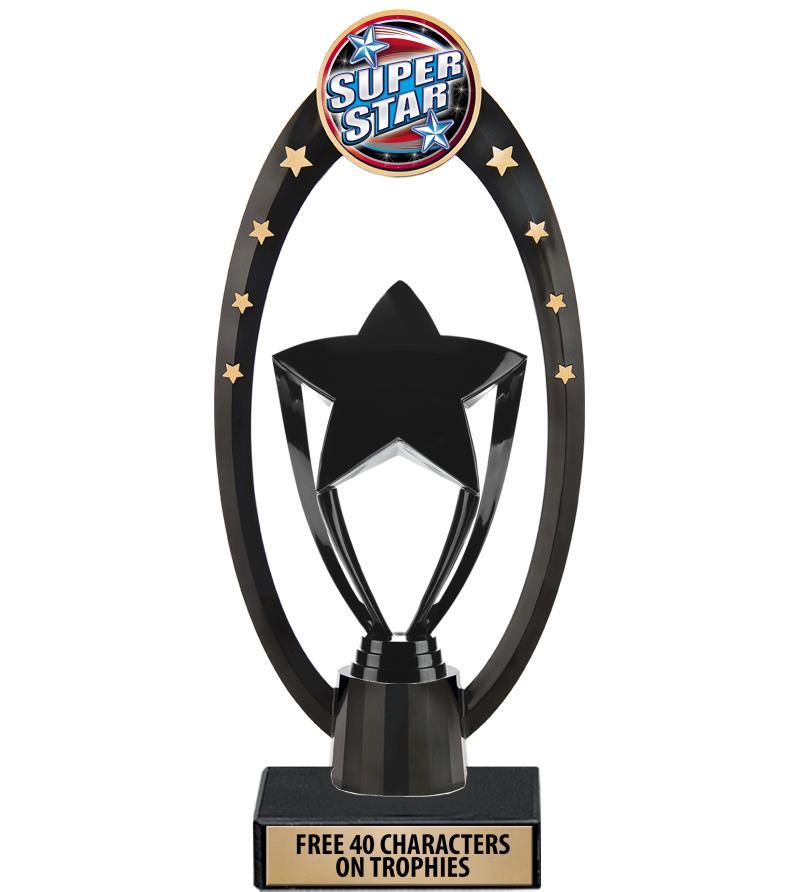 """11"""" Deluxe Gateway Backdrop Trophy"""