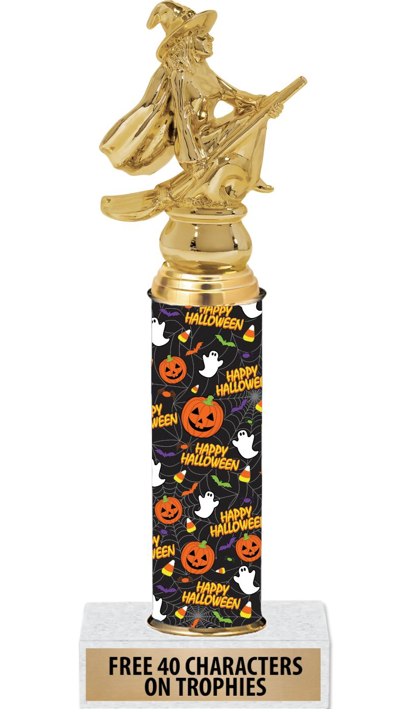 "10"" HAPPY HALLOWEEN TROPHY"