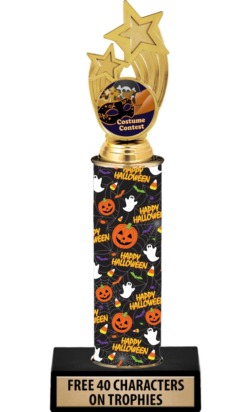 "10"" HALLOWEEN HOLDER TROPHY"