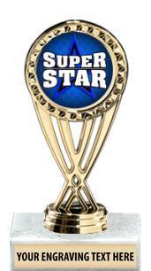 "6"" Classic Insert Trophy"