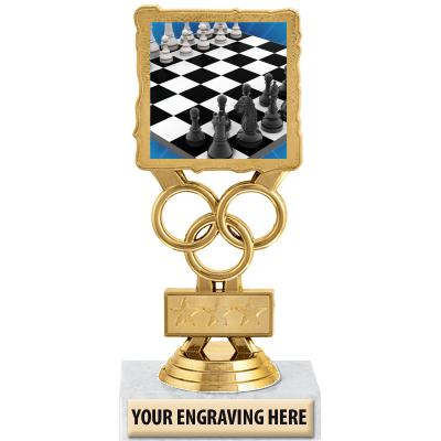 """6"""" Chess Motion Trophy"""