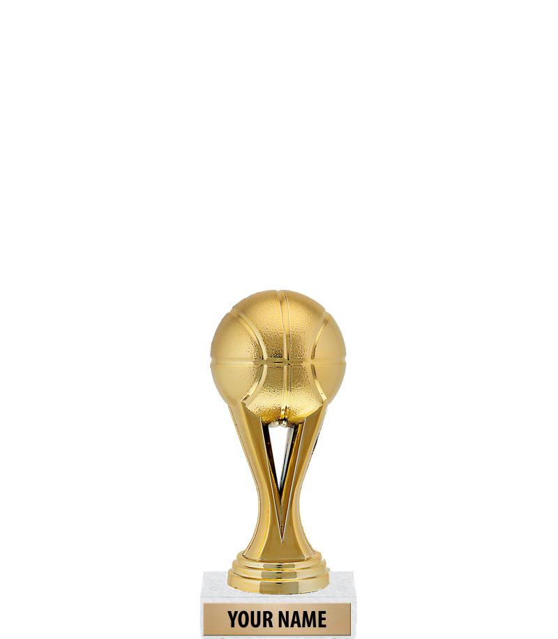 "6"" Gold Iconz Trophies On Marble Base"
