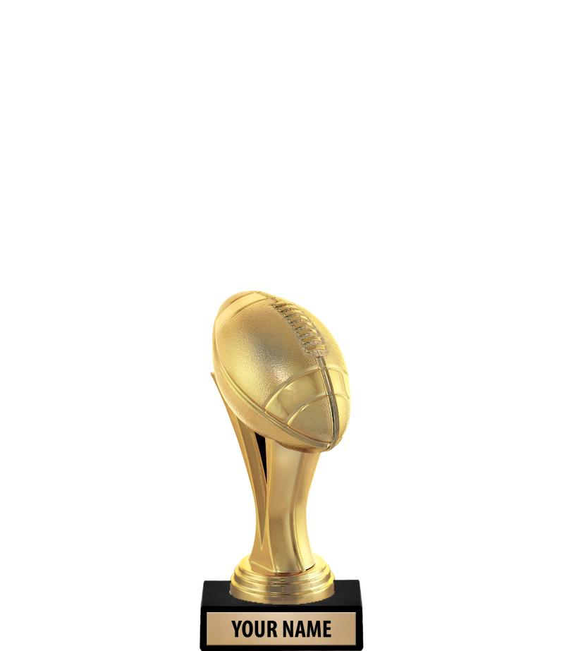 """6"""" Gold Iconz Trophies On Marble Base"""