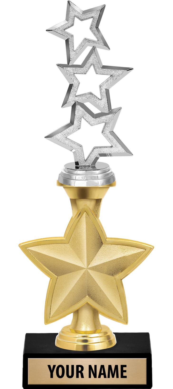 "9"" & 11"" Idol Star Trophies"
