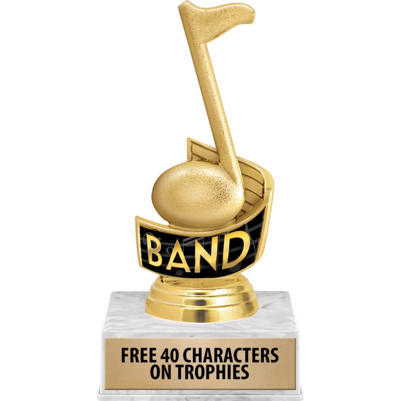 MUSIC NOTE INSERT TROPHY