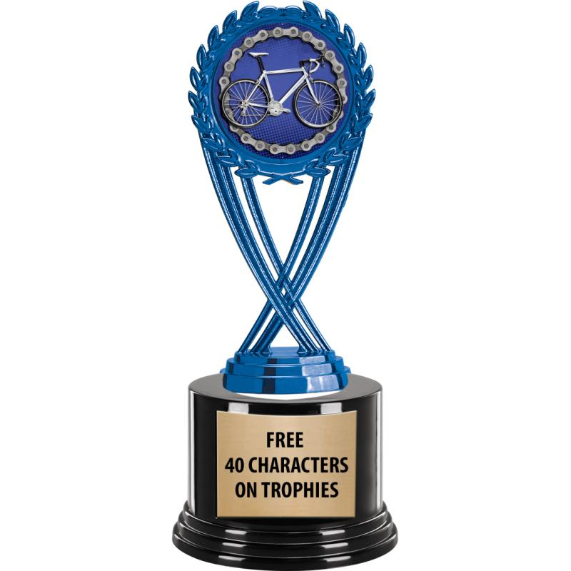 BLUE OLYMPIA INSERT TROPHY