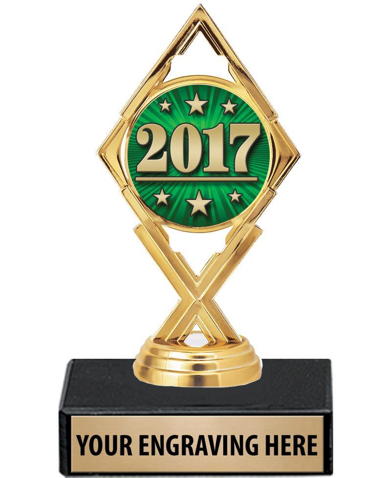 "5 3/4"" Royale Diamond Trophy"