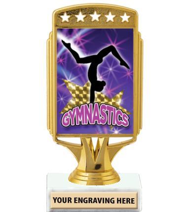 "6"" Starcardz Foil Holder Trophy"