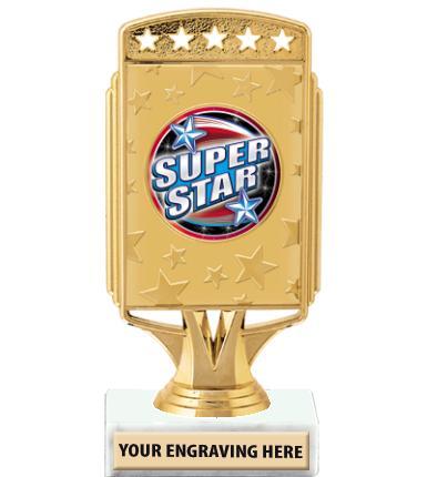 """6"""" Starcardz Insert Trophy"""