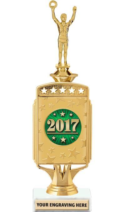 """12"""" Starcardz Riser Insert Trophy"""
