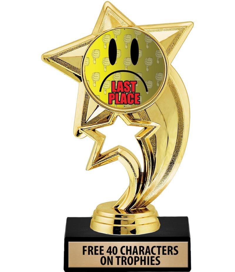last place trophies last place medals last place