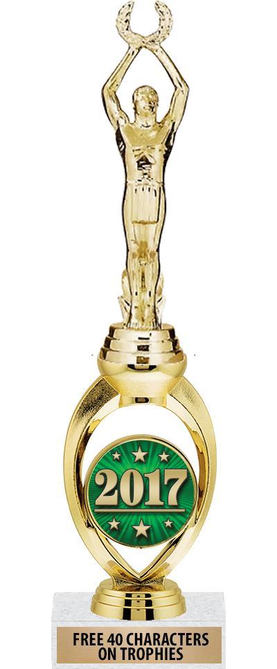"12"" Solstice Riser Insert Trophy"