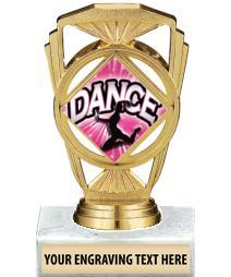"""5 1/4"""" Dance Marquis Trophy"""