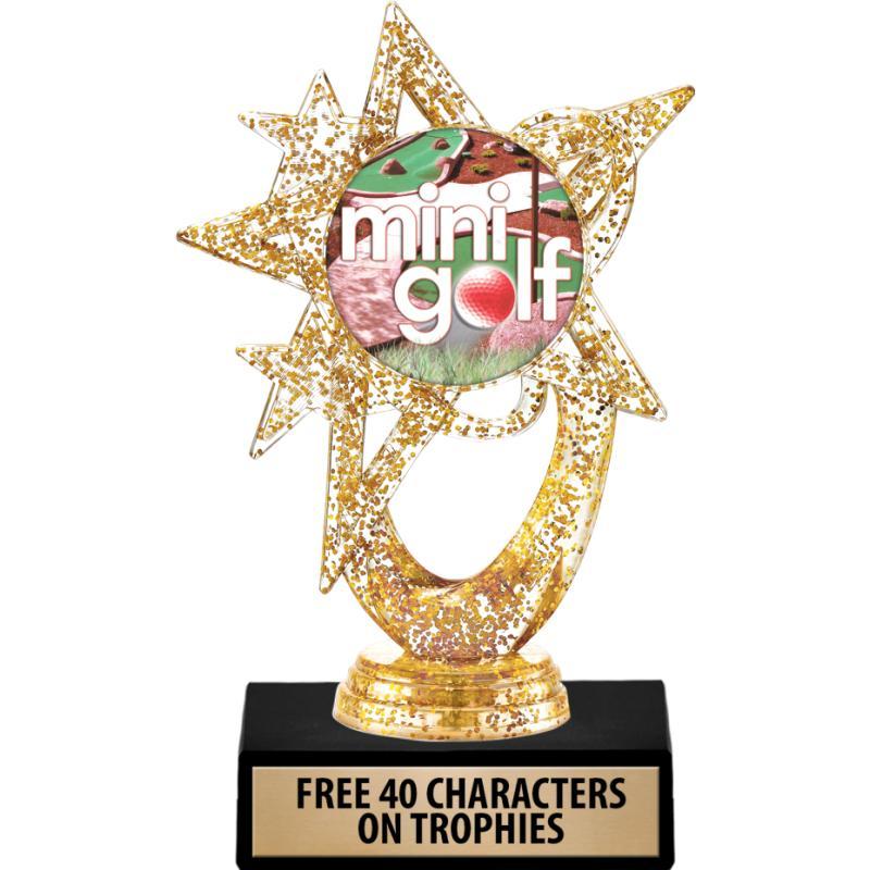 Mini Golf Trophies Crown Awards