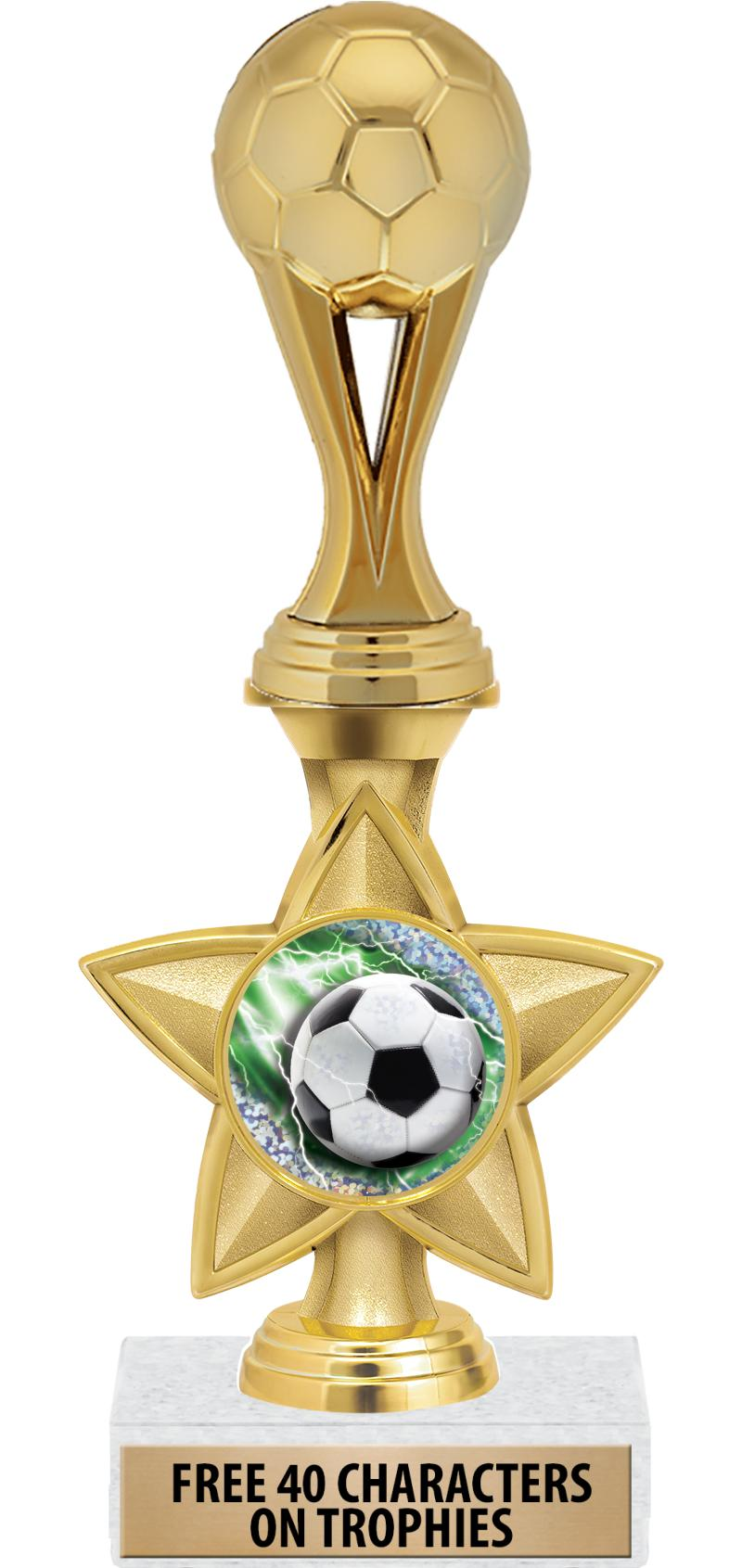 "11"" IDOL INSERT STAR TROPHY"