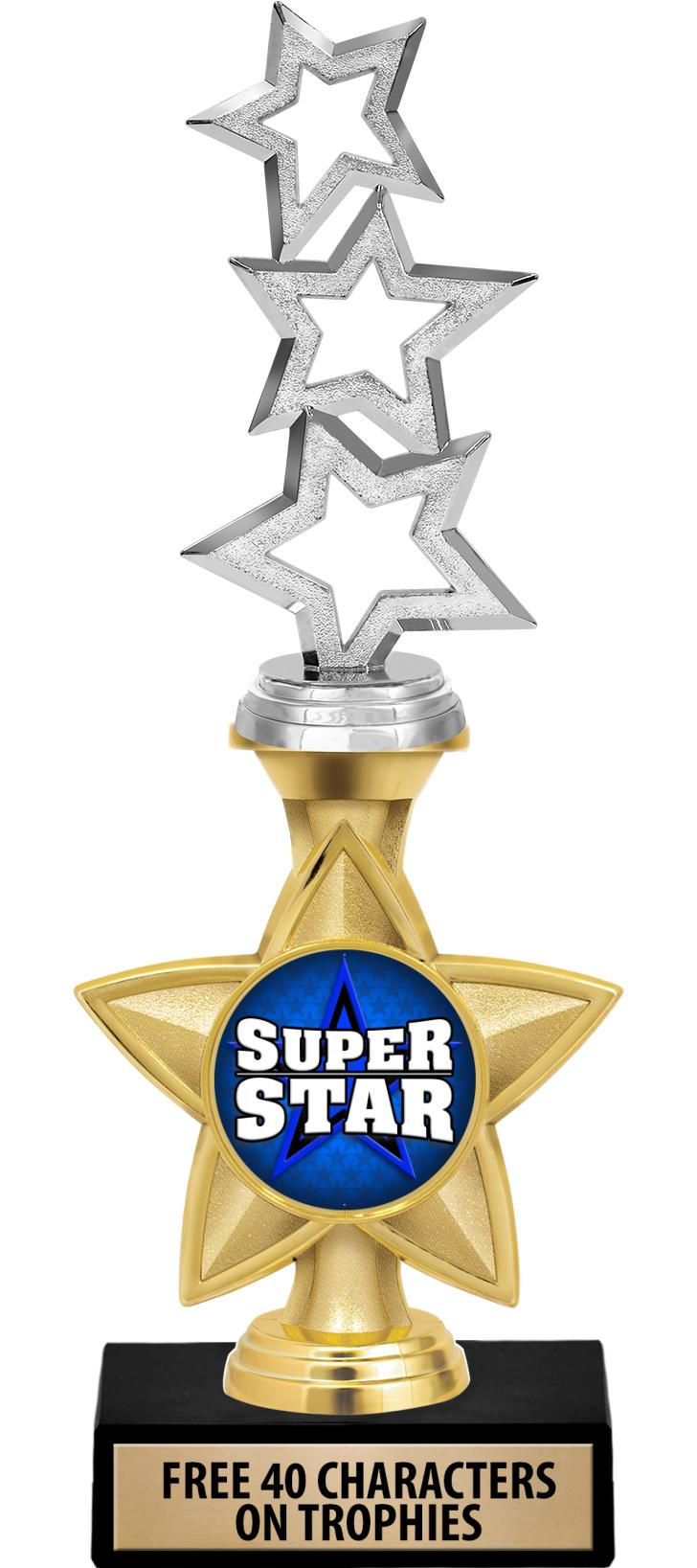 """11"""" Idol Star 2"""" Insert Trophy"""