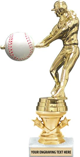 """7"""" - 9"""" Starbell Riser Trophies on Marble Base"""