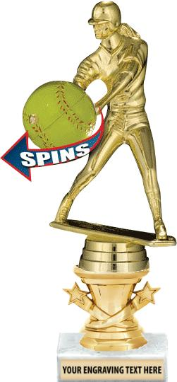 "7"" - 9"" Starbell Riser Trophies on Marble Base"