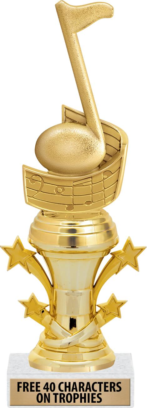"8"" STARBELL TROPHY"
