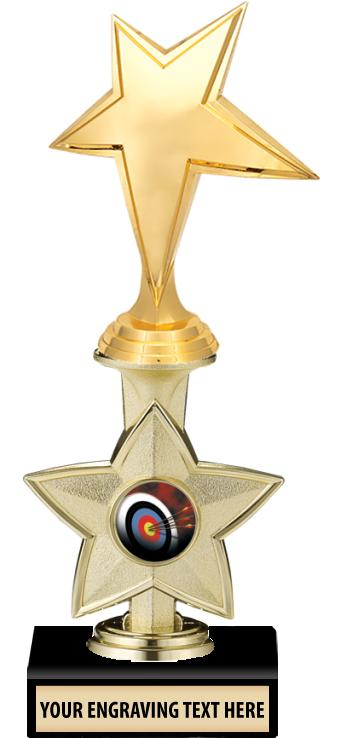 "9"" Idol Star 1"" Insert Trophy"
