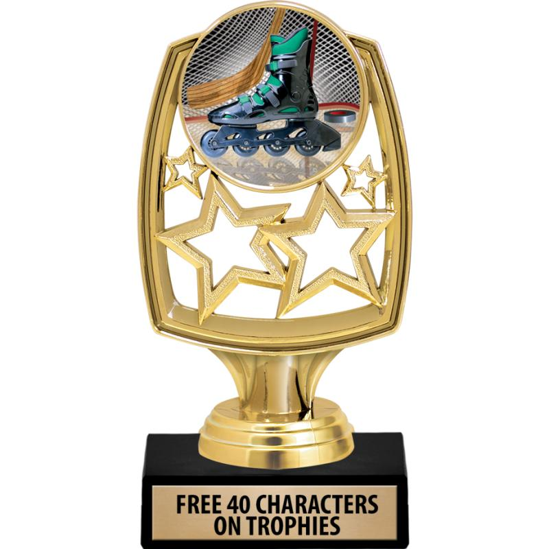 STAR WHIRL INSERT TROPHY GD