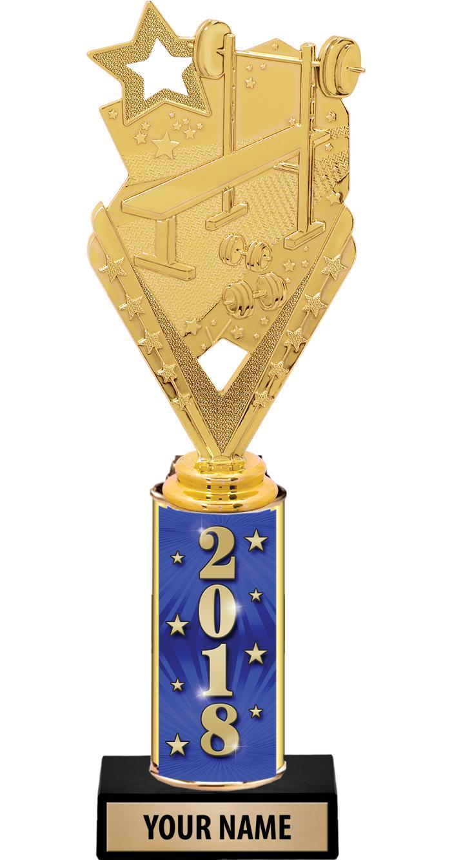 """10"""" ULTIMATE GOLD FOIL TROPHY"""