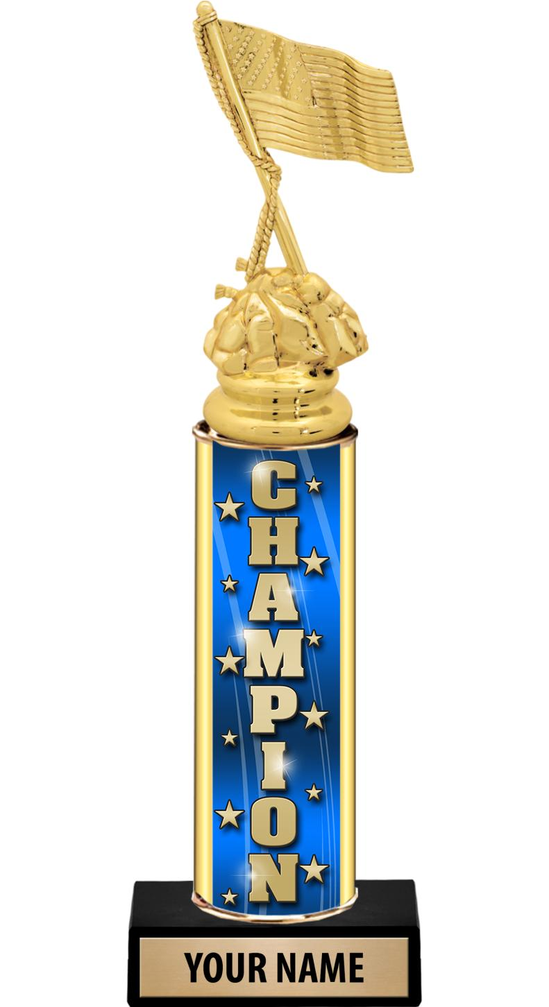 "12"" ULTIMATE GOLD FOIL TROPHY"