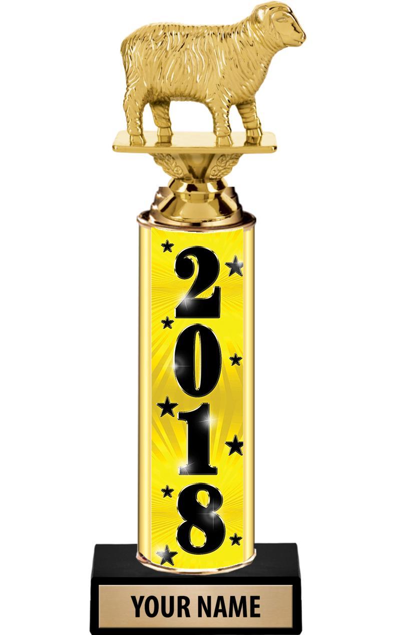 """12"""" ULTIMATE GOLD FOIL TROPHY"""