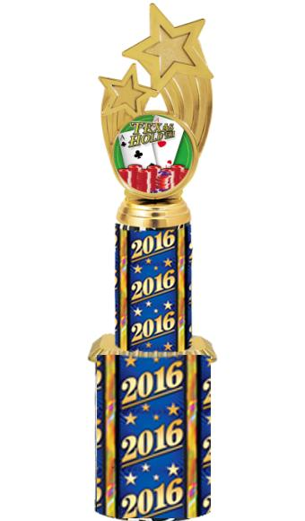 "11"" ROCKET HOLDER TROPHY"