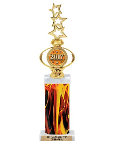 Deluxe Oval Insert Trophies