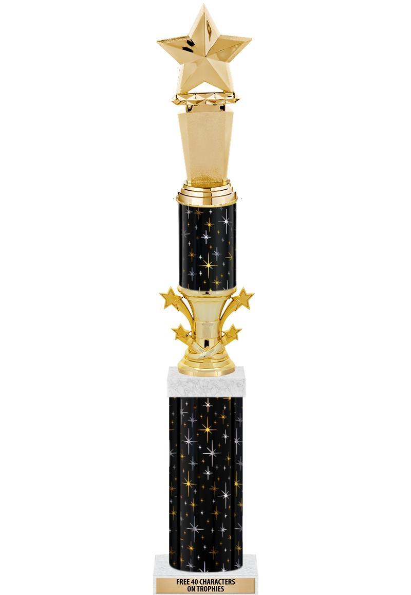 Starbell Deluxe Rocket Trophies