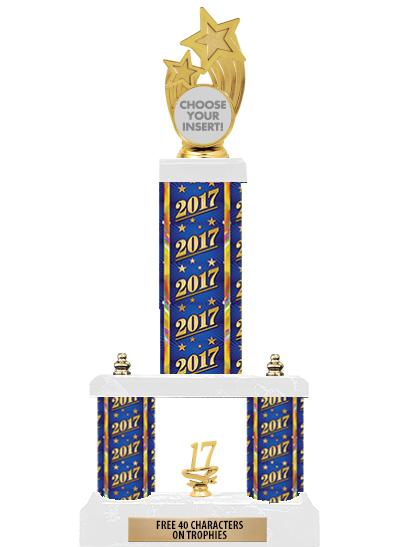 "19"" 2TIER HOLDER TROPHY"