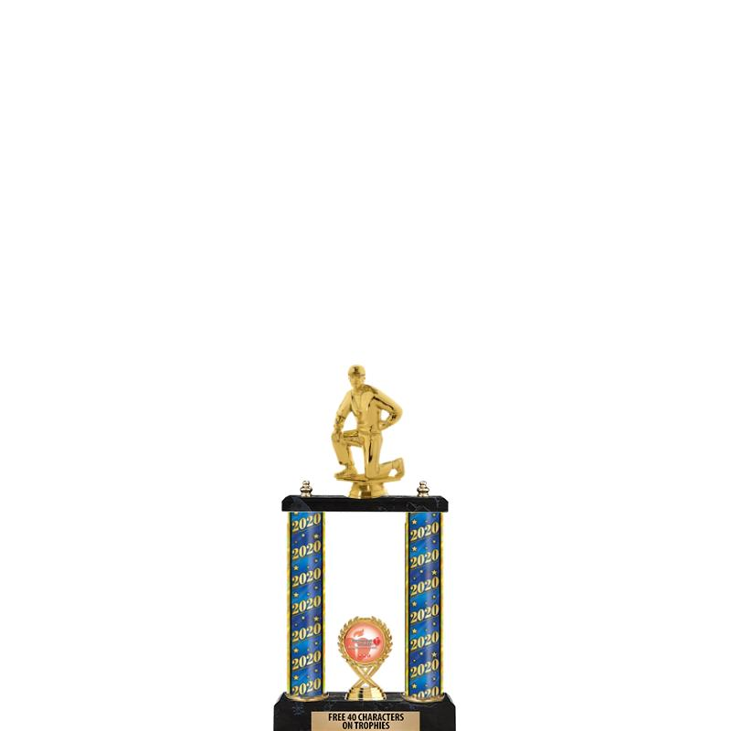 """16"""" 2 POSTER TROPHY"""