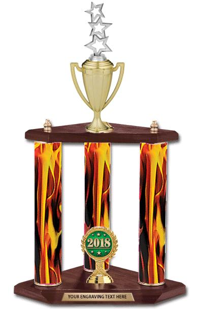 3 Poster Cup Trophy