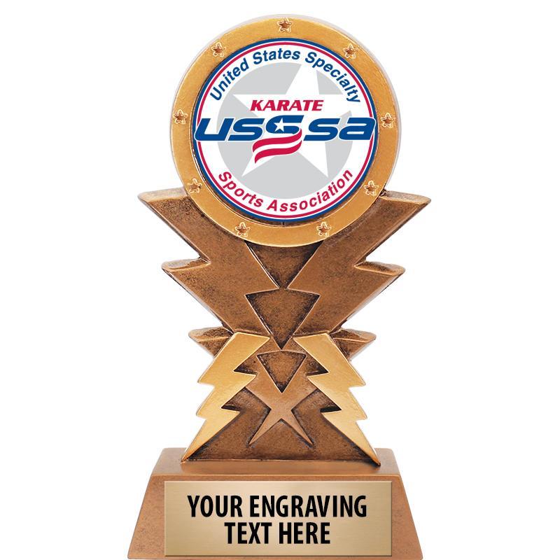"6"" USSSA Lightning Sculpture"