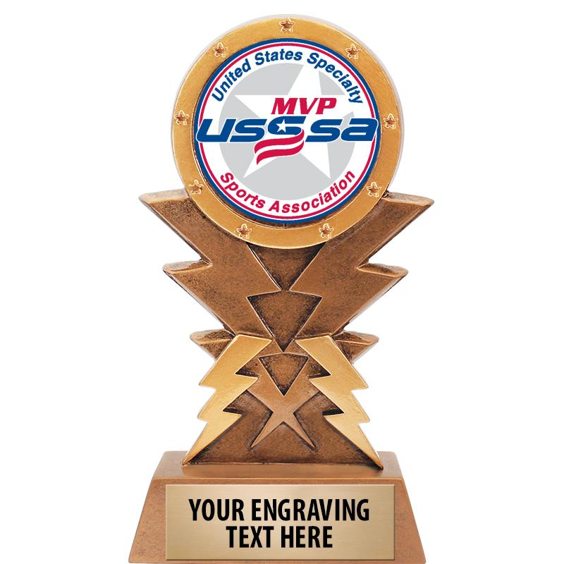 "6"" USSSA Lightning Sculpture"