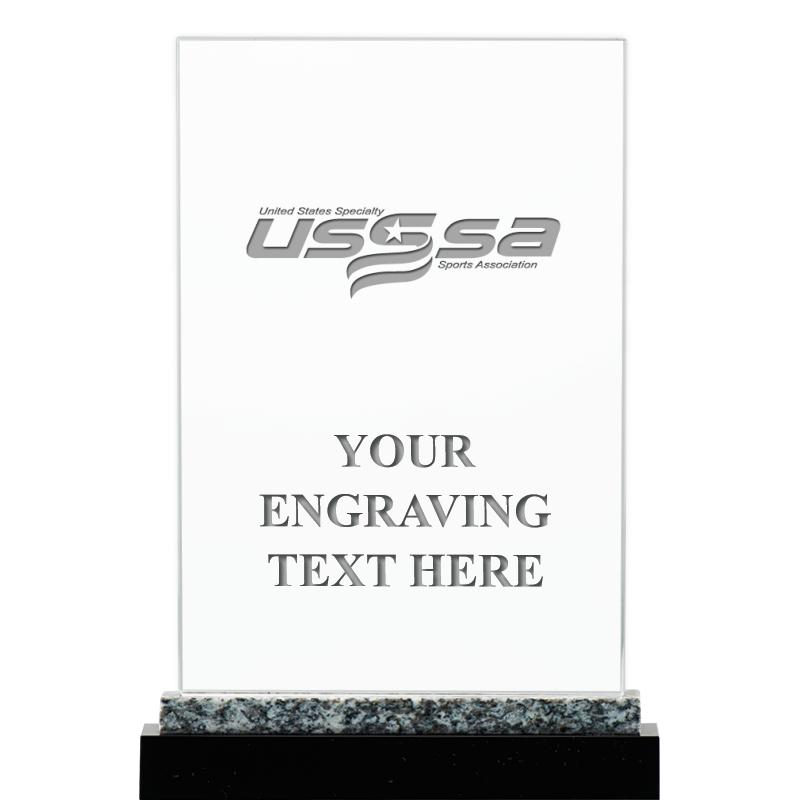 """8.5""""USSSA MARBLE WORKS CRYSTAL"""