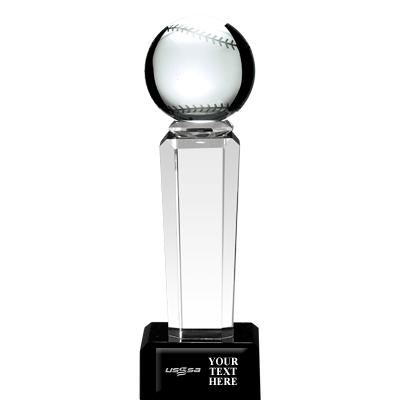 USSSA Baseball Onyx Pedestal Awards