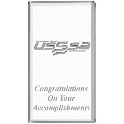 USSSA Soccer Vertical Display Crystals